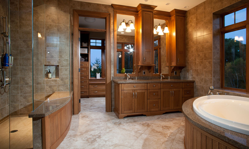 Woodecor Custom Luxury Bath