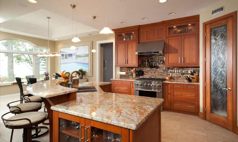 Woodecor Custom Contemporary Kitchen