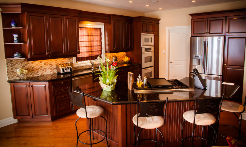 Woodecor Custom Cherry Kitchen