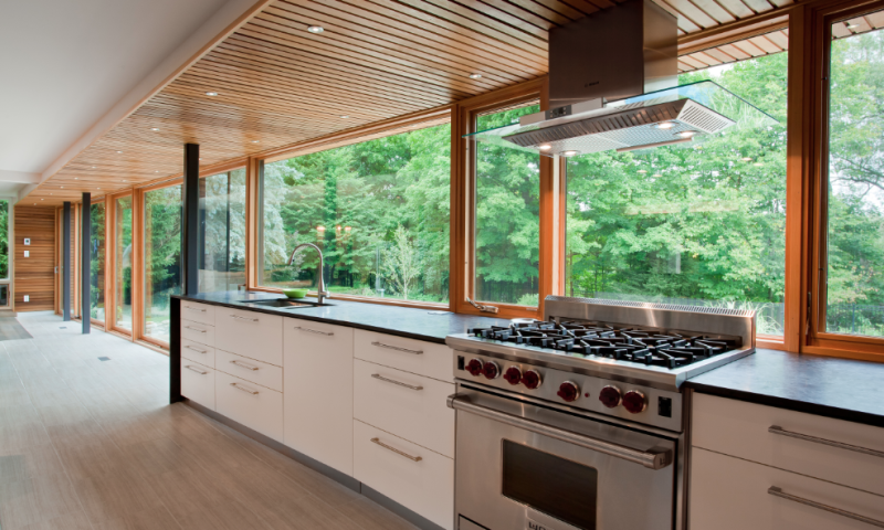 Woodecor Modern White Oak Kitchen