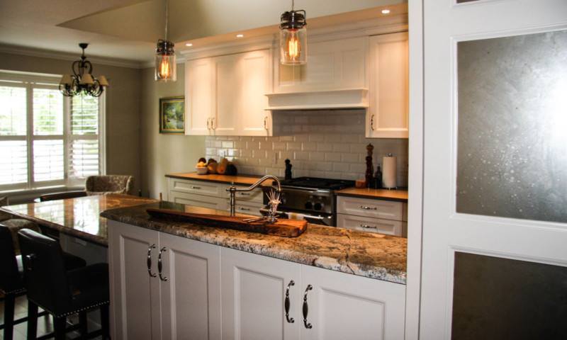 Traditional Galley Style Kitchen