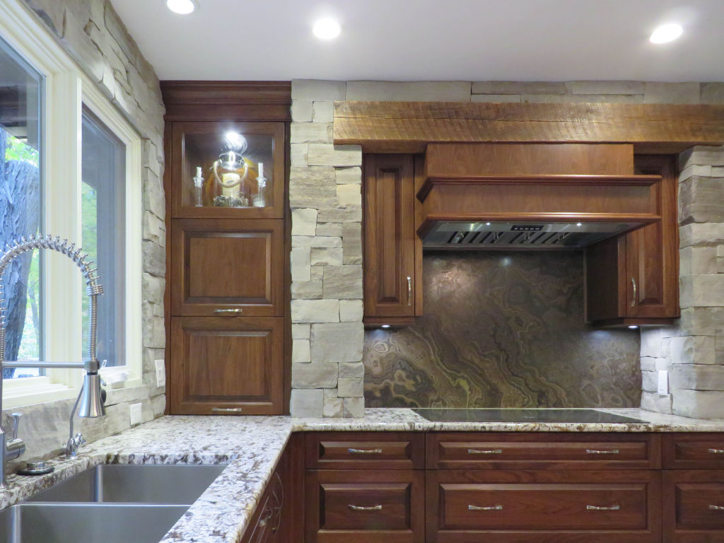 rustic charm furniture. Stone Clad Kitchen With Rustic Charm Furniture