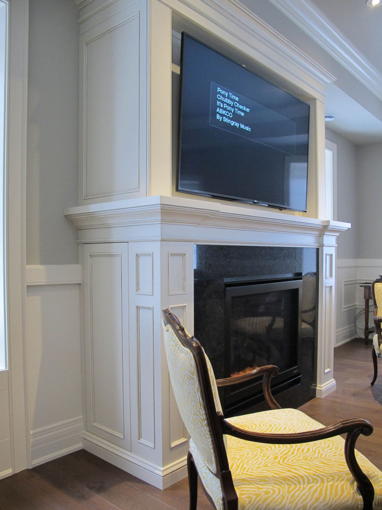 Fireplace Mantle With Hidden Storage | Woodecor   Quality Custom Cabinetry,  Kitchens And Furniture   Since 1979 In Stratford, Ontario
