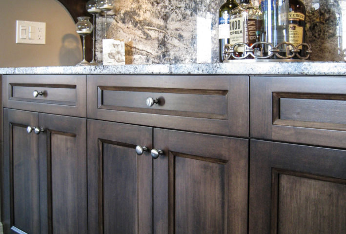 Transitional Stained Bar