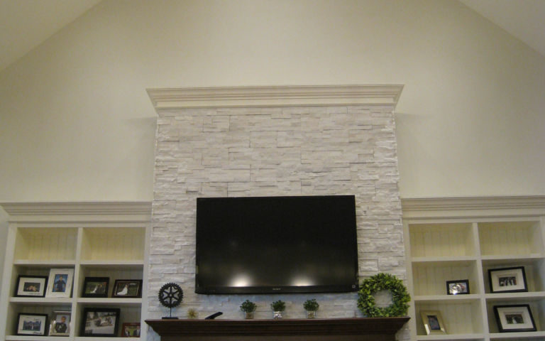 Soaring Great Room Wall Unit
